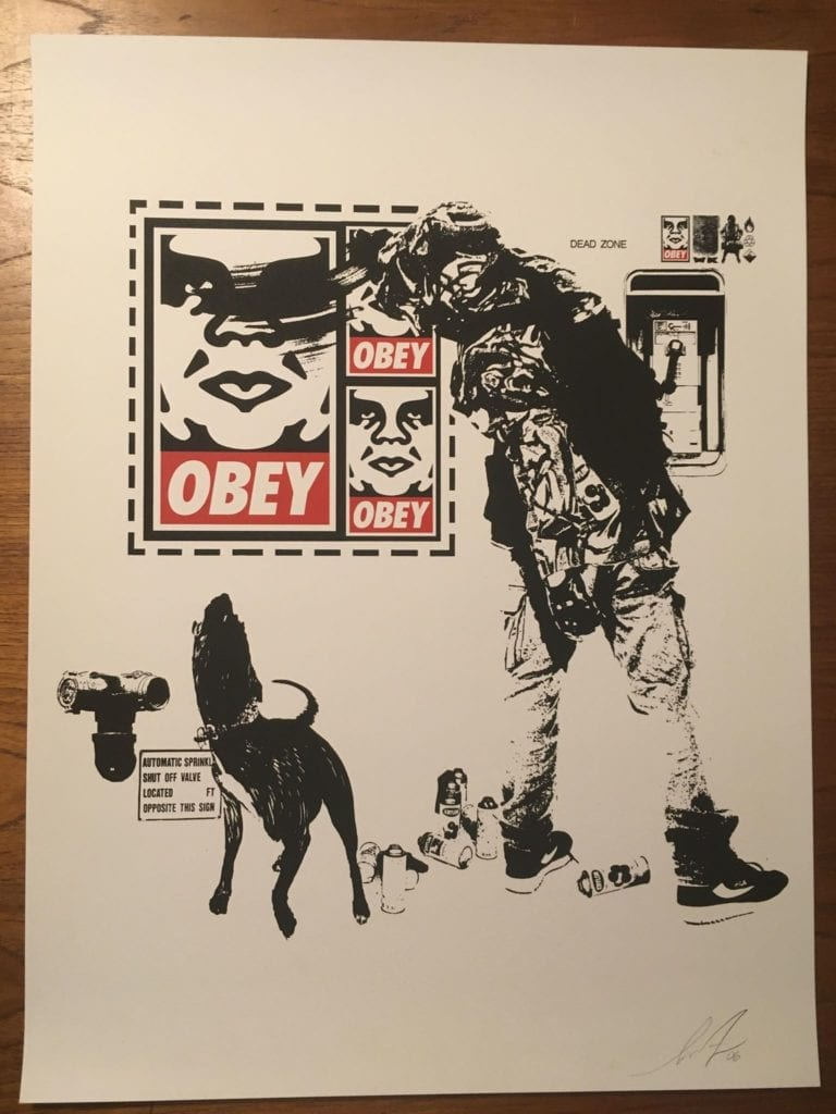 OBEY/WK FLYER