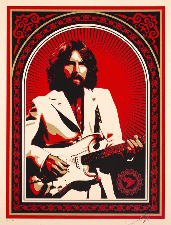 shepard fairey friendship and support george harrison