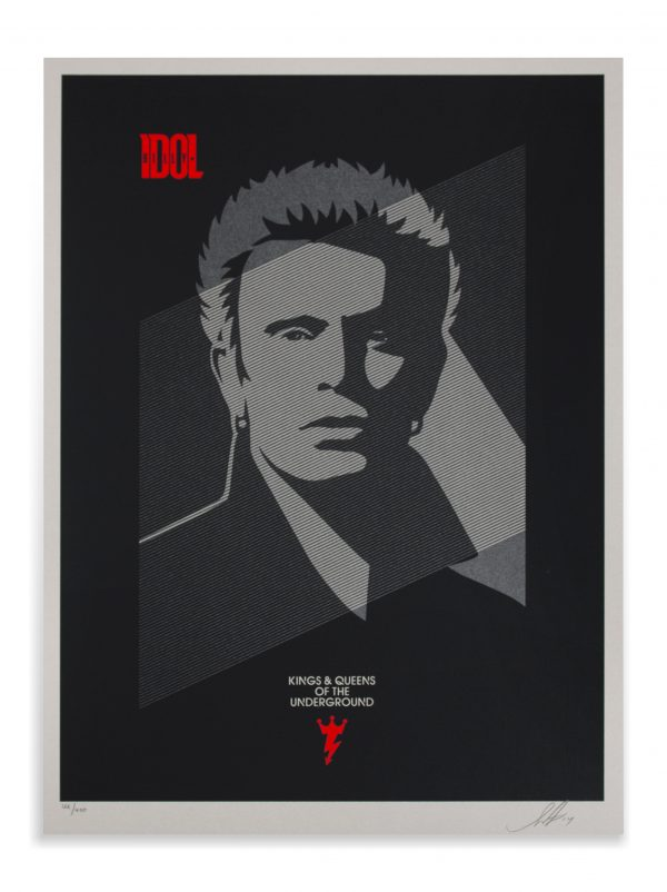 BILLY IDOL | KINGS AND QUEENS OF THE UNDERGROUND - Shepard Fairey Image 2