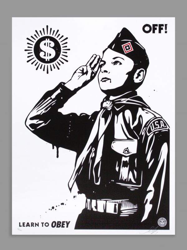 OFF! - Learn to OBEY - Shepard Fairey Image 2