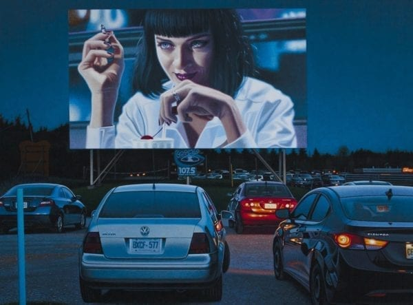 Pulp Fiction By Andrew Valko 2019 Archival Pigment Print Paralax