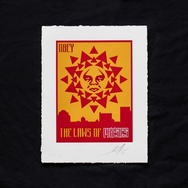 The laws of physics - Shepard Fairey Image 2
