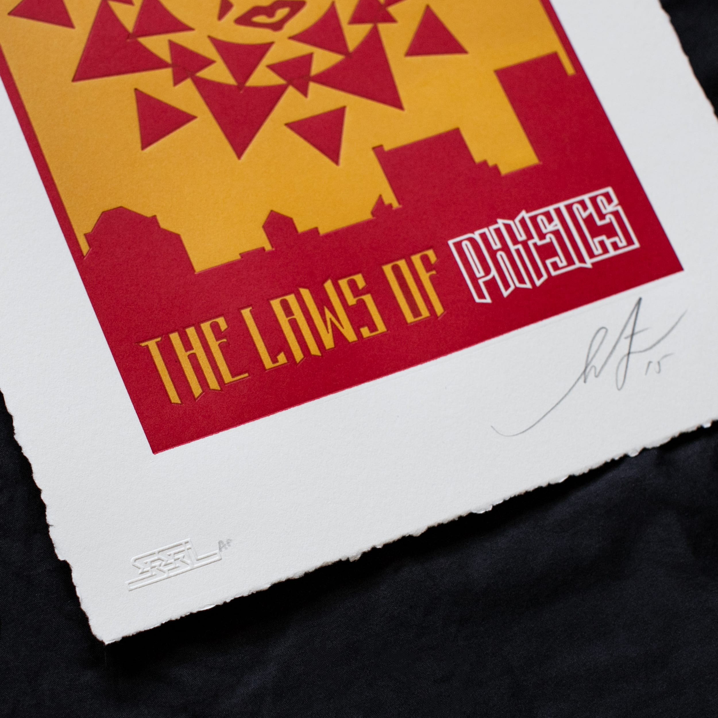The laws of physics - Shepard Fairey Image 5