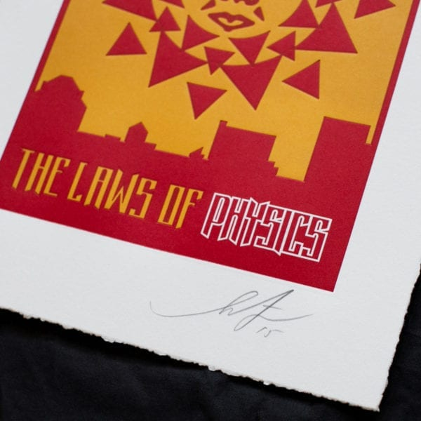 The laws of physics - Shepard Fairey Image 4