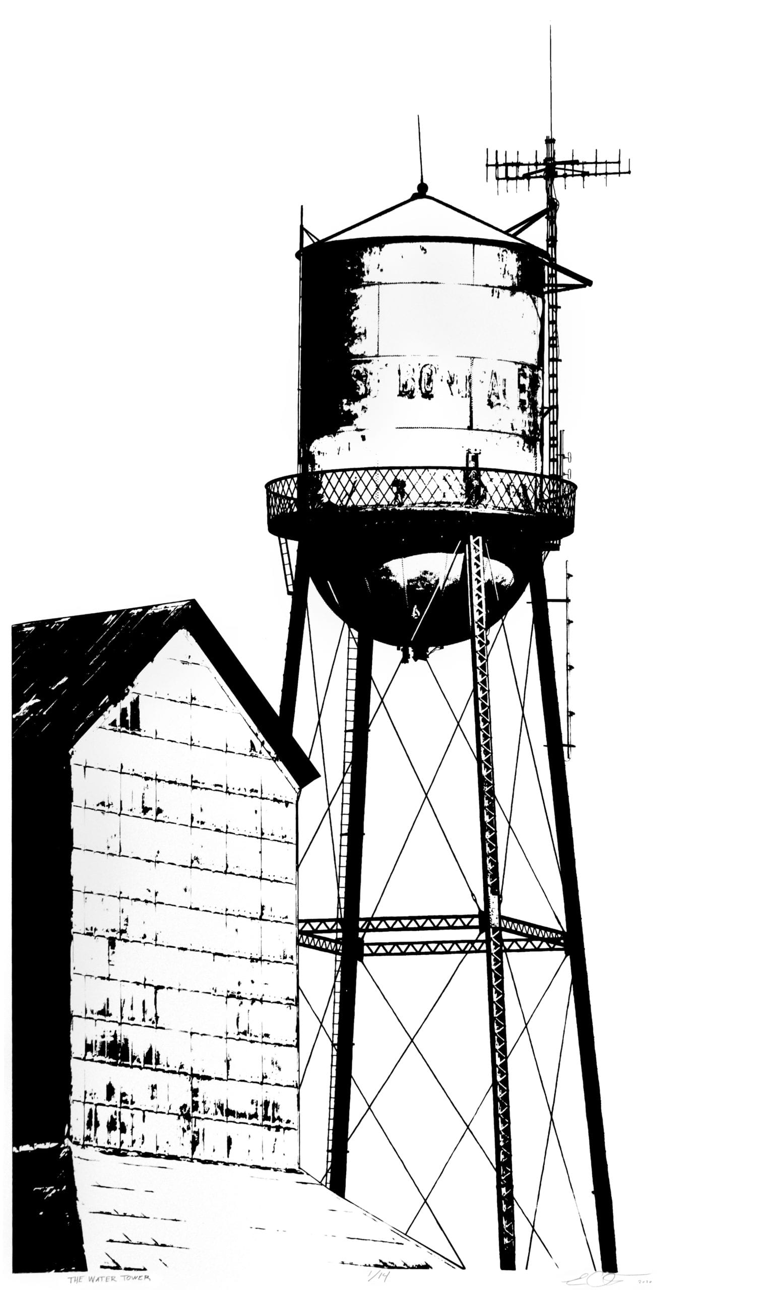 The Water Tower - Eric Ouimet Image 1