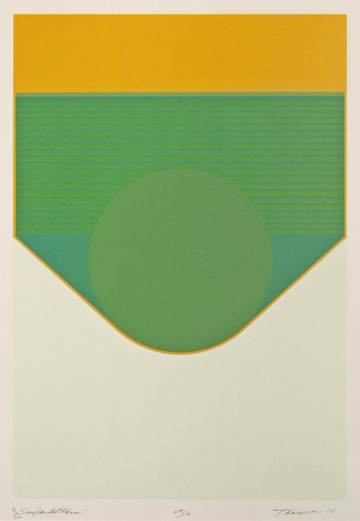 Suspended Form by Tony Tascona | Serigraph